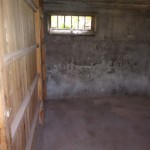 撤去後の倉庫