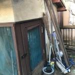物置小屋の中のゴミ片付け!家の外回りも処分と回収。