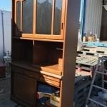 和光市で食器棚、エアコンの回収・処分!