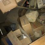 納屋 倉庫の片付け 本類 机 ダンボール 食器 大量のゴミ処分
