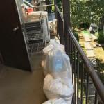 引越し不用品・粗大ゴミの回収!メタルラック・洗濯機等々