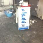 港区で店舗の残置物の片付けCパック×2台