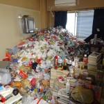 溜め込んでしまったゴミ部屋のゴミを全撤去!