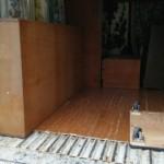 家具の積み込み