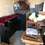 朝霞市で年代物の電気ピアノ、ソファ、家具等回収・処分
