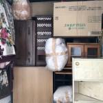 回収した家具など