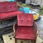 年代ものの椅子