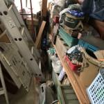 ご実家の片付け 遺品整理 物置内の撤去と処分