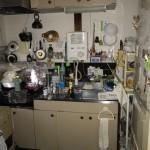 食器棚、冷蔵庫、食器、布団等の回収!