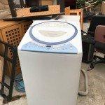 回収した洗濯機