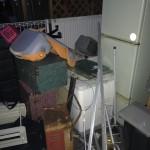 冷蔵庫 洗濯機 タンスと物置の片付け